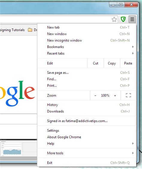 chrome menu 3 subtle changes google made to chrome in recent updates