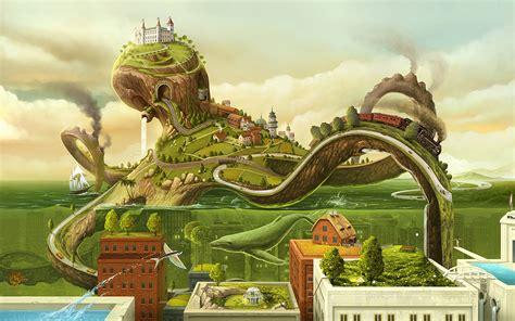 surrealist art world of surreal art wallpapers wallpaper cave