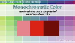 monochromatic colors definition drawing aesthetics lessons study