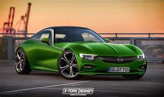 Who Made Opel Gt Production Opel Gt Rendered But It S Not Happening