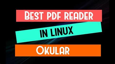 best pdf reader linux best pdf reader in linux 1