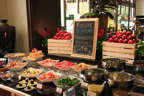 Where To Take Dad For An Haute Father S Day Sunday Brunch Buffet Los Angeles