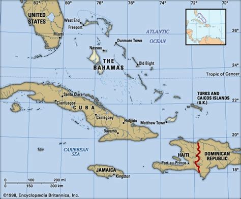political map of bahamas the bahamas history geography points of interest