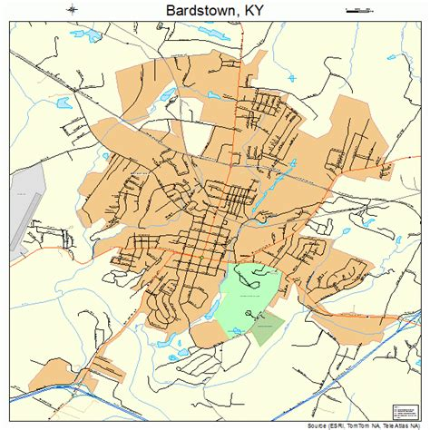ky map downtown bardstown ky pictures posters news and on your