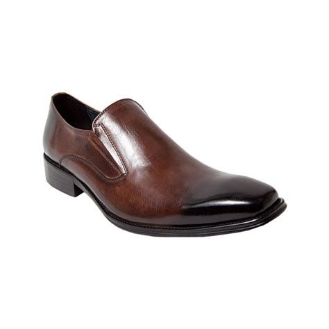 steve madden brown loafers steve madden lavell slip on loafers in brown for lyst