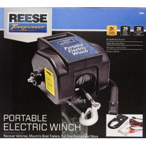 reese towpower portable electric winch wiring diagram : 53