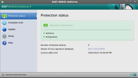eset nod32 antivirus for linux desktop 3 user