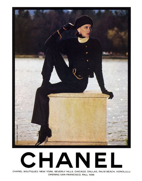 Chanels 2008 Advertising Caign With Schiffer by Ad Ines De La Fressange Chanel Photo 303088 Fanpop