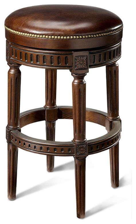 Manchester Bar Stool by Manchester Swivel Bar Height Backless Bar Stool 30 Quot H Seat