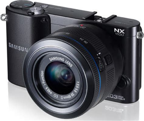 aps c mirrorless samsung nx1100 mirrorless aps c officially