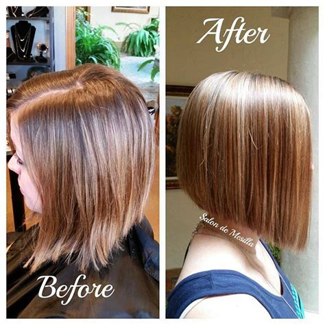 before and after of straight short bob to bridal hair 21 eye catching a line bob hairstyles bob hairstyle