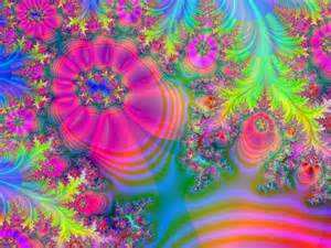 colorful artwork colorful fractal flowers by lalylaura on deviantart
