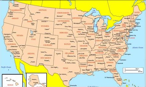 map of usa with city detail cities in usa holidaymapq com