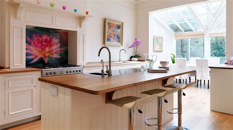 open kitchen designs with island original open plan kitchen from harvey jones