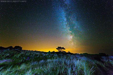 nacht landschap