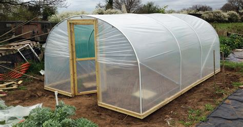 Cheap To Build House Plans by How To Build A Polytunnel Love2learn Allotmenting