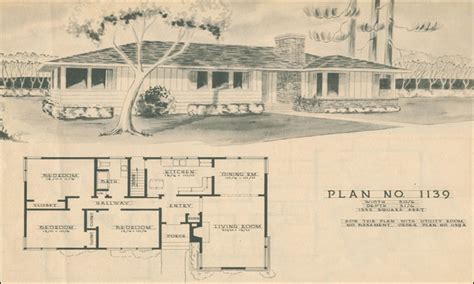 1950s ranch house floor plans modern ranch style house 1950s ranch style house plans