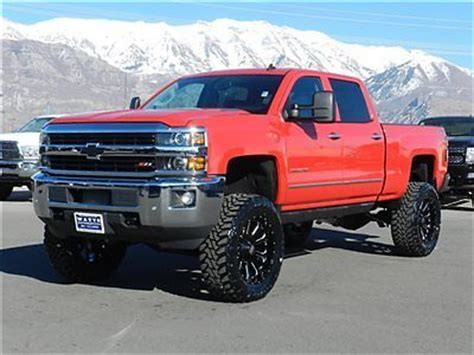 chevy crew cab ltz 4x4 duramax diesel custom new lift 22