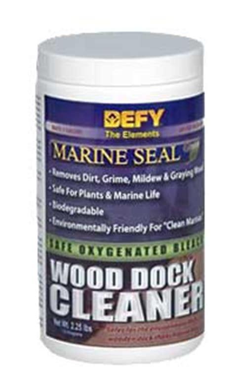 defy marine seal wood cleaner   sealer store