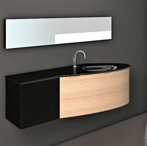 wall mounted bathroom vanity with storage cabinet modern