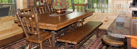 log cabin dining table rustic furniture mountain design log cabin dining room furniture great room with fireplace