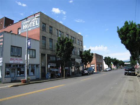 cottage grove oregon cottage grove or downtown cottage grove photo picture