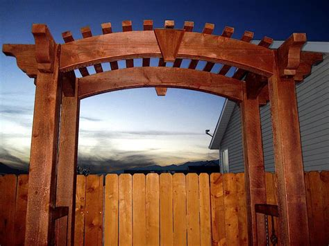 Timber Garden Arch Kits 12 Pergola Roofing Design Ideas Western Timber Frame