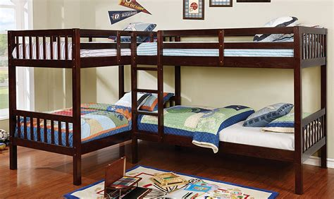 bunk beds for 4 10 types of triple bunk beds plus 25 top picks 2018