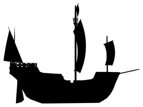 boat stencil pirate ship stencil clipart best