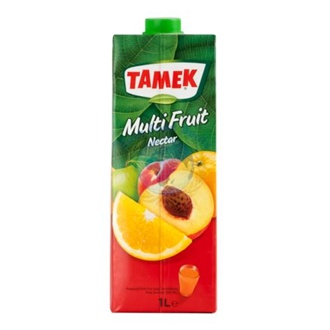 fruit nectar tamek multi fruit nectar 1l food deals