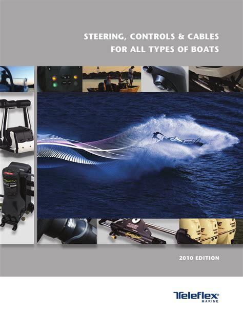 boat steering cable identification teleflex marine catalog by anthea webb issuu