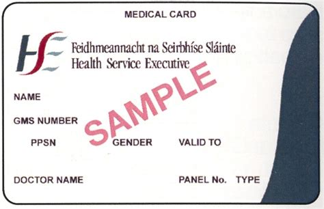 medical card section contact number prsi class medical card boards ie