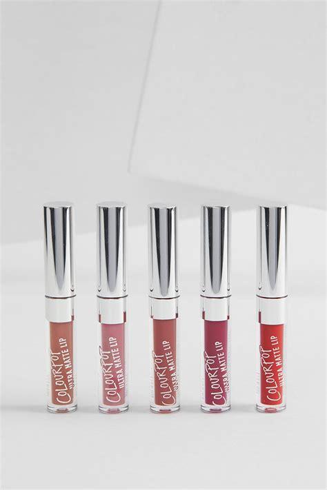 Colourpop Ultra Matte Liquid Lipstick Foxy Mini Kitssets clueless ultra matte liquid lipstick colourpop