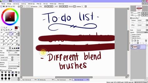 paint tool sai stabilizer doesn t work paint tool sai tutorial stroke stabilizer