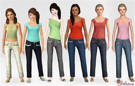 Balon Set By Ef Fashionable stylish comfort set for adults and elders custom content for the sims 3 by