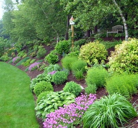 Sloping Garden Ideas Photos The Effective Landscape Ideas For Sloped Backyard Bee Home Plan Home Decoration Ideas