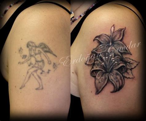 flower tattoo cover ups 17 best images about cover up ideas on