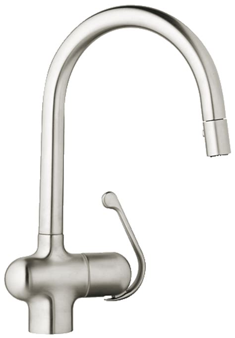 grohe ladylux kitchen faucet grohe 32245sd0 ladylux pro main sink dual spray pull down