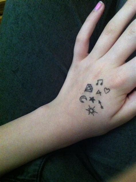 tattoo with eyeliner and hairspray cool designs to draw on your hand easy home design ideas