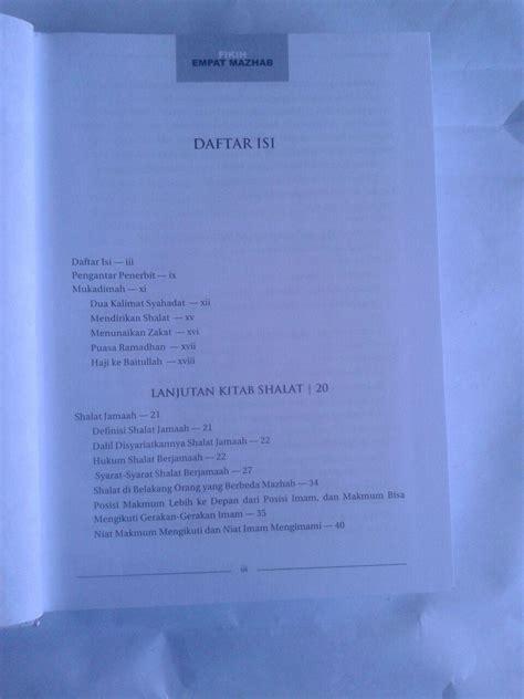 Shalat Empat Madzhab buku fikih empat madzhab praktis 1 set 2 jilid