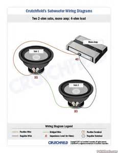 subwoofer wiring diagrams big 3 upgrade 77839