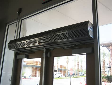 air curtain residential air curtain door interior exterior homie
