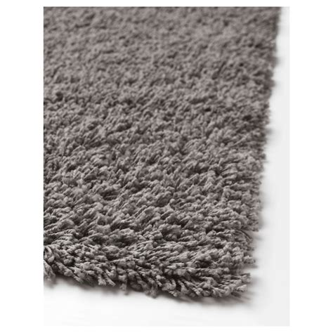 ikea carpet hampen rug high pile grey 160x230 cm ikea