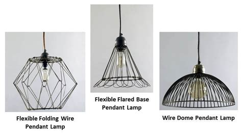 wire pendant lighting adds visual interest to kitchen