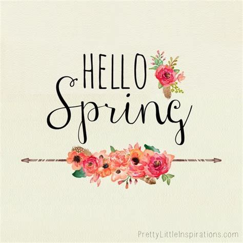 printable spring quotes hello spring pictures photos and images for facebook