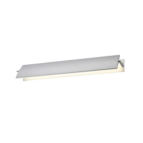 modern bathroom lighting led sonneman 2702 16 aileron contemporary bright satin