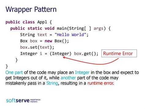 wrapper pattern java exle generic collections java core презентация онлайн