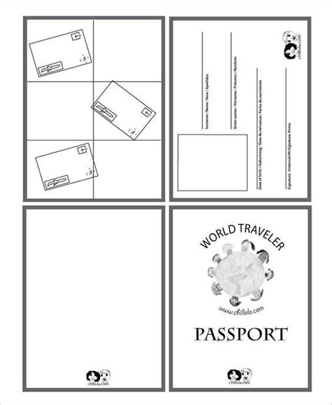 canadian passport template best 25 passport template ideas on