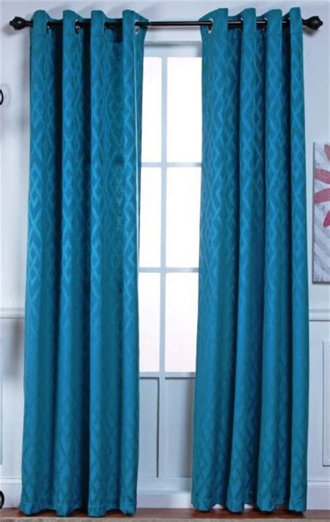 modern teal curtains adrian grommet top panels teal stylemaster contemporary