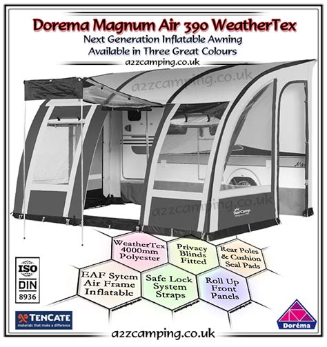 dorema porch awning frame diagram 2018 dorema magnum air 390 inflatable awning